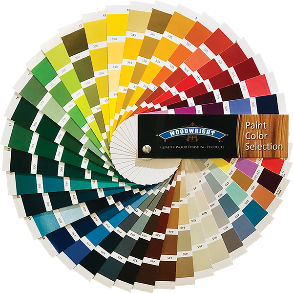 Woodwright paint color guide