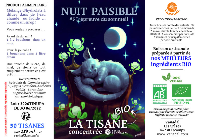 Tisane Nuit Paisible