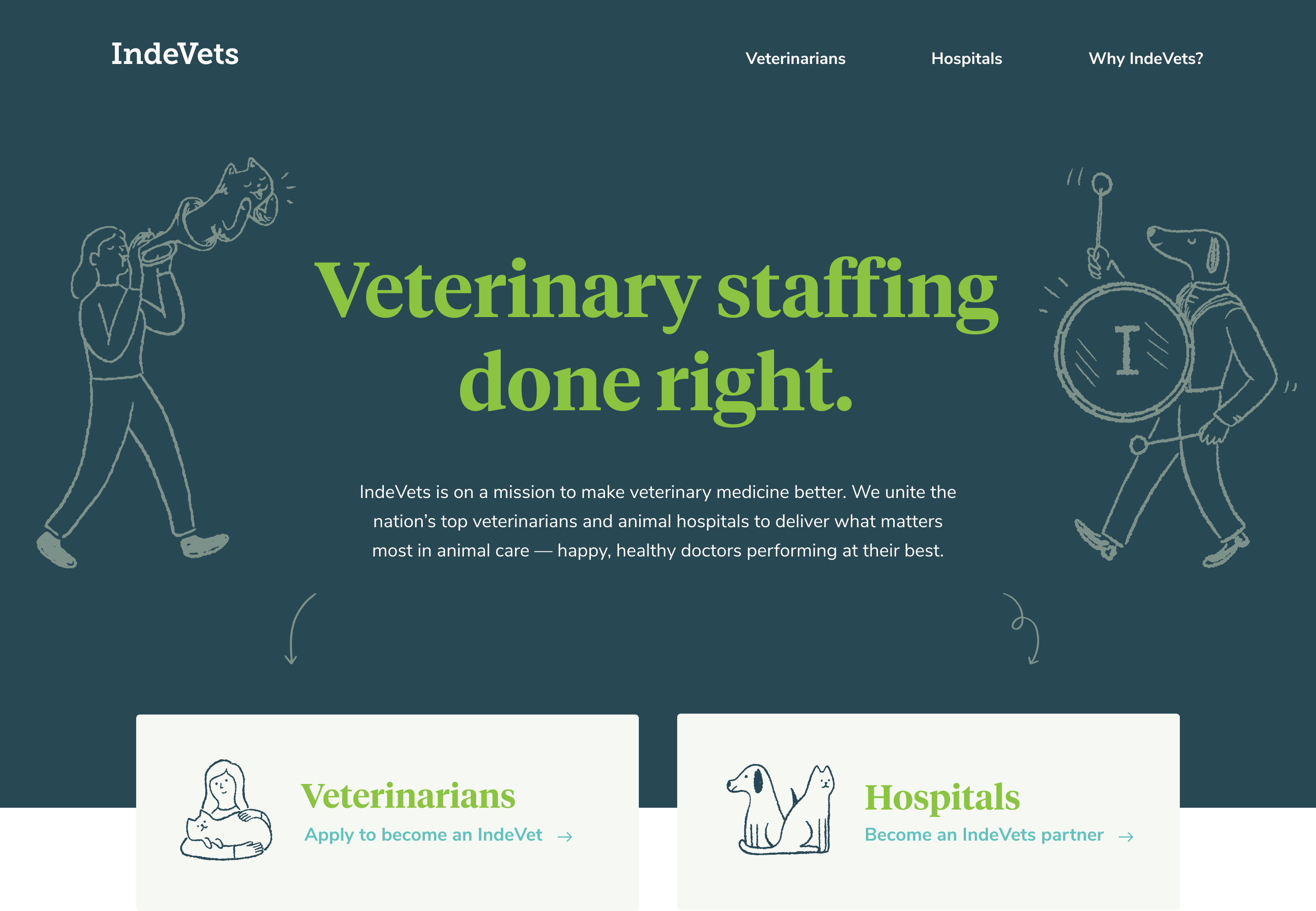 IndeVets - Helping veterinarians live saner lives