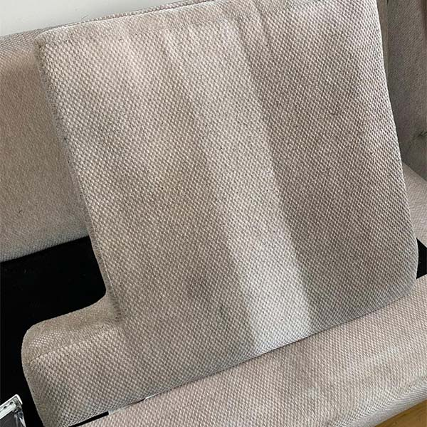 Upholstery cleaning project in Pingree Grove
