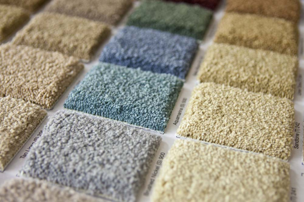 Carpet color palette