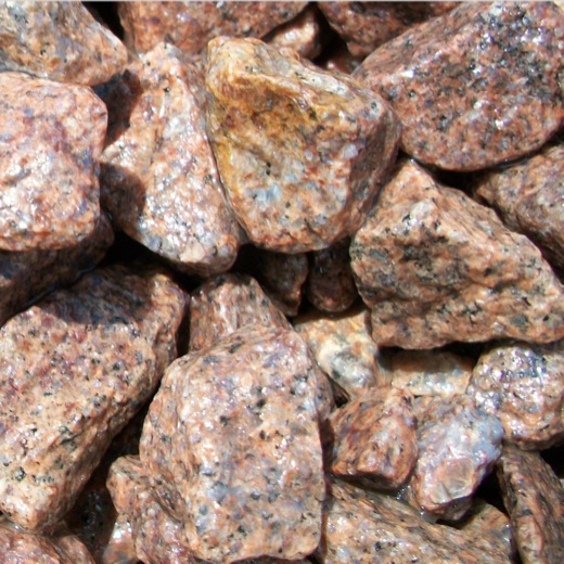 Granite rock sample