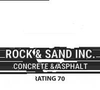 Jensen Rock and Sand logo