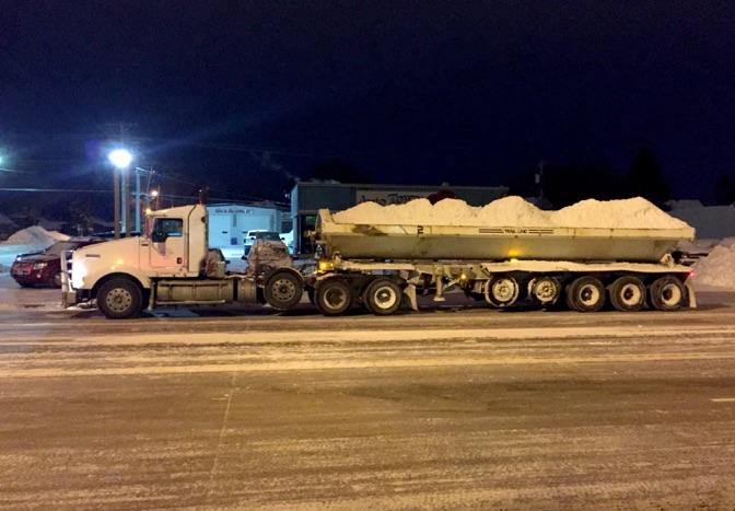 jensen snow removal truck