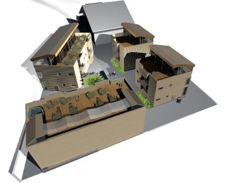 Blockhäuser Gerlos Alpendorf