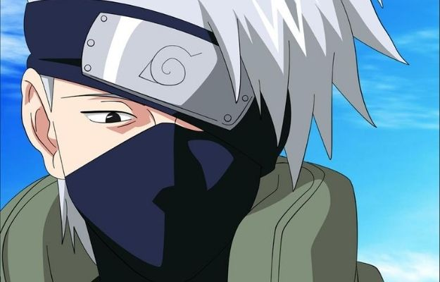 Close up image of Kakashi Hatake | Guess the Age of These Anime Characters