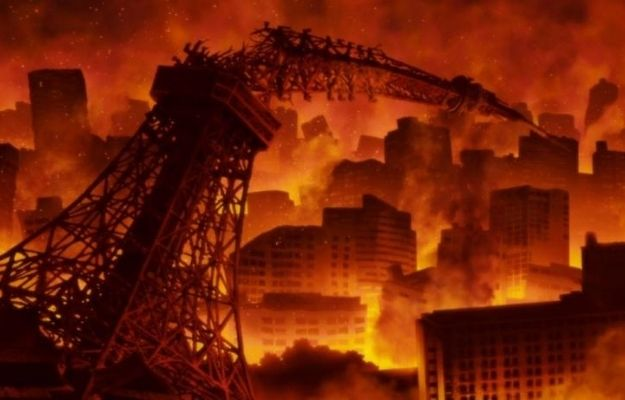 the city is on fire and it spreads everywhere   Is Japan Sinks 2020 Based on a True Story   Is Japan Sink 2020 on Netflix Worth the Hype