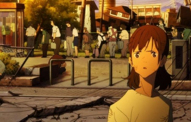 a girl is showing shocking reaction with a long queue behind   Is Japan Sinks 2020 Sad?