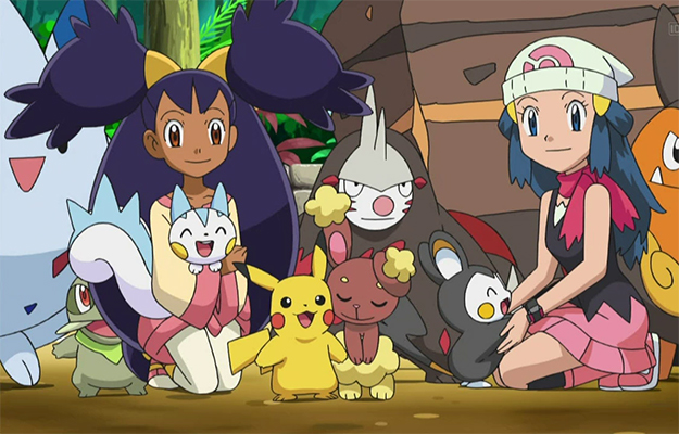 Iris playing with her pokémon friends | All Iris' Pokemon join her willingly | Iris Facts You Probably Didn't Know