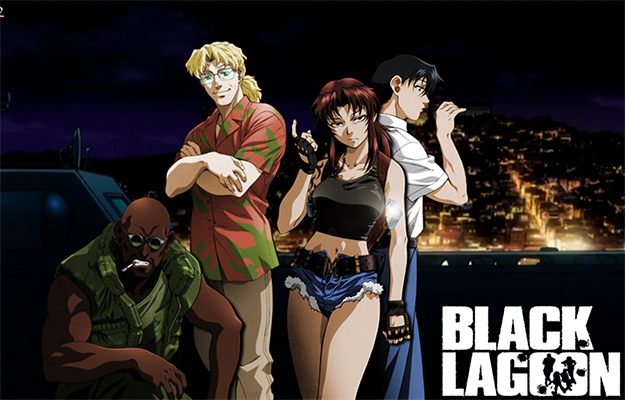 main characters from Black Lagoon | Black Lagoon | Top 4 Anime That Should Have Their Own Video Games
