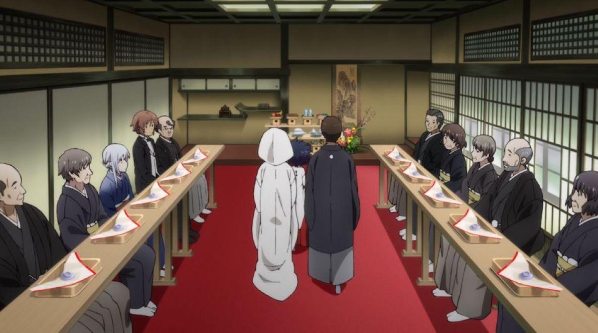 Wedding ceremony at the shrine | Traditional Shrine Ceremonies | Weddings in Japan