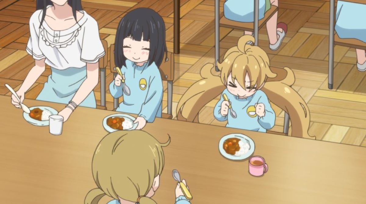 Tsumugi enjoys the curry they made at kindergarten | Ways to Enjoy Curry | Japanese curry