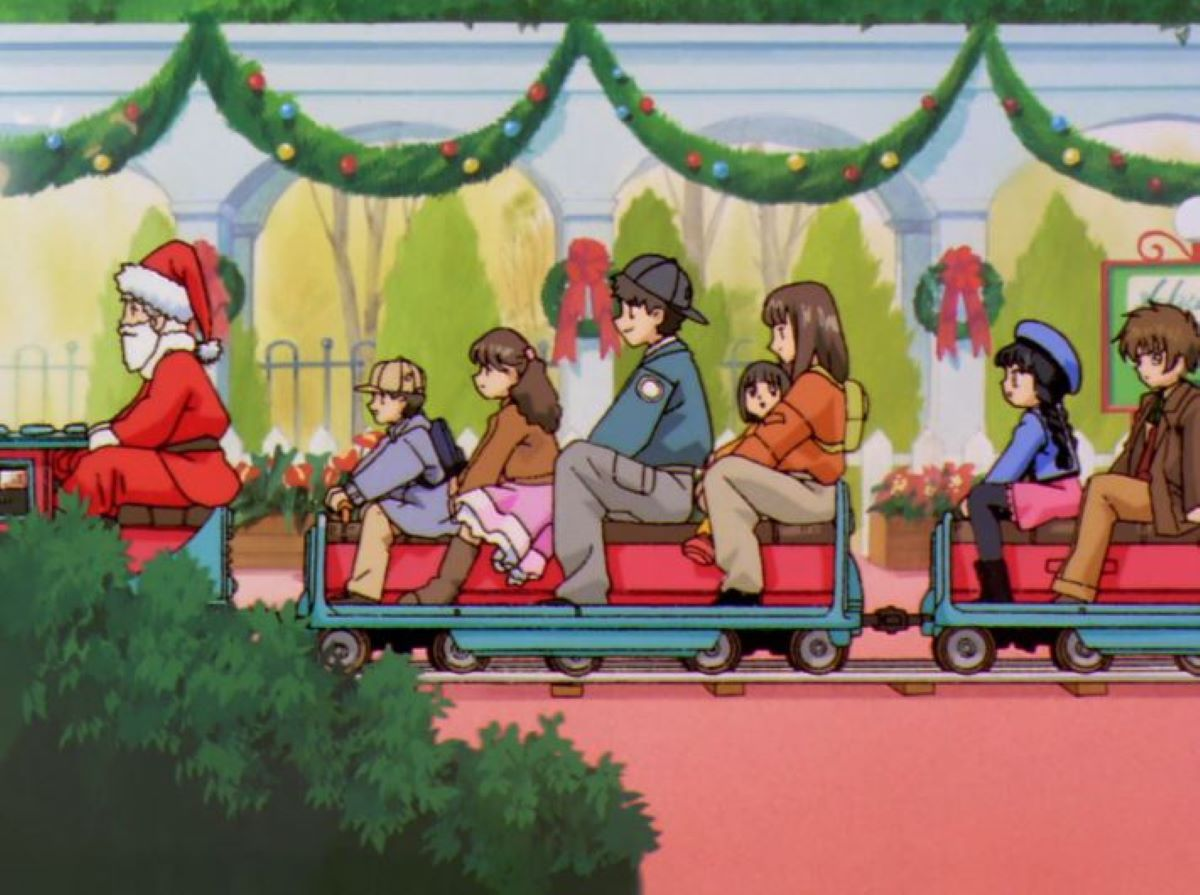 Taking the Christmas train! | Cardcapter Sakura - Episode 35 | Christmas Episode Recommendations