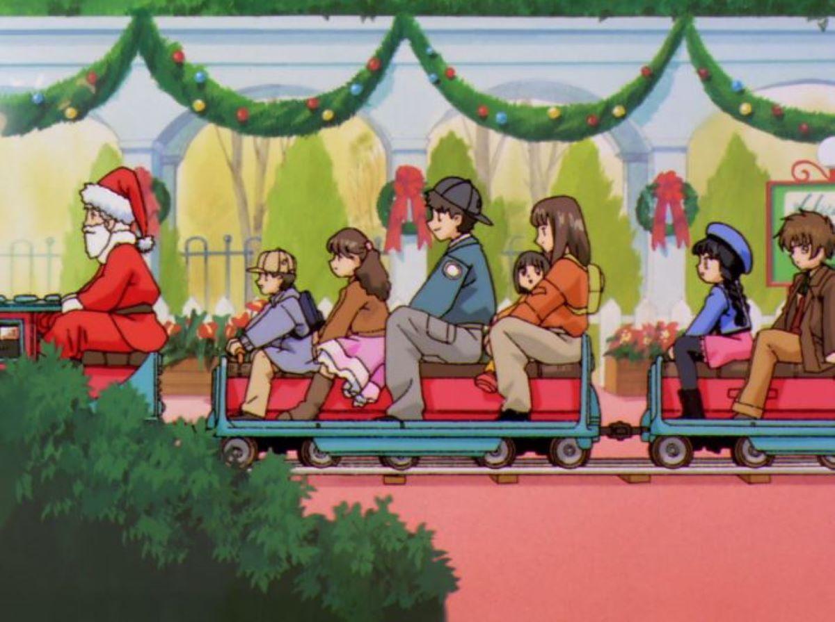 Taking the Christmas train!   Cardcapter Sakura - Episode 35   Christmas Episode Recommendations