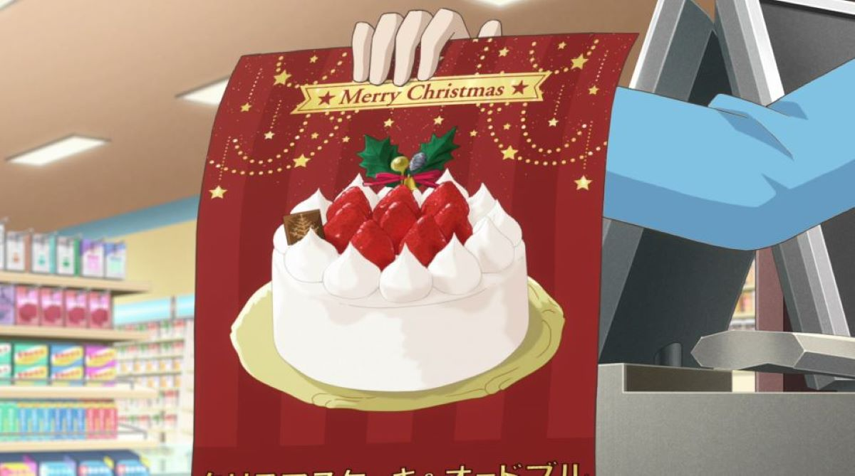 Christmas poster at the convenience store   Convenience Store Boy Friends - Episode 9   Christmas Episode Recommendations