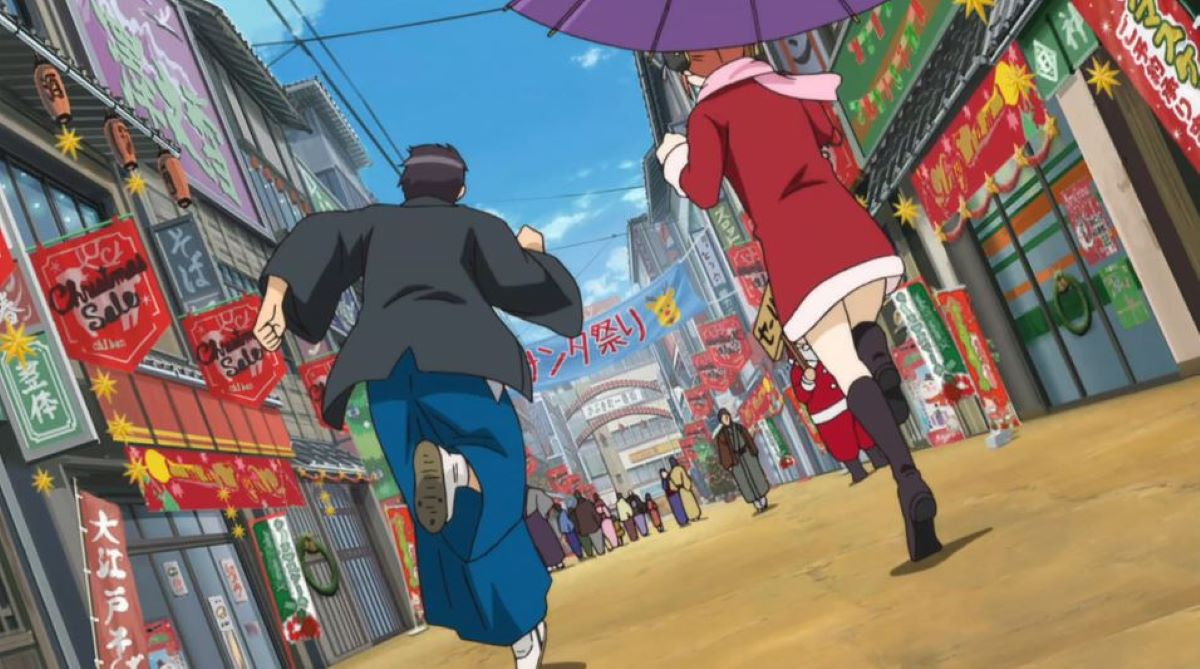 Christmas shopping street   Gintama - Several Episodes   Christmas Episode Recommendations