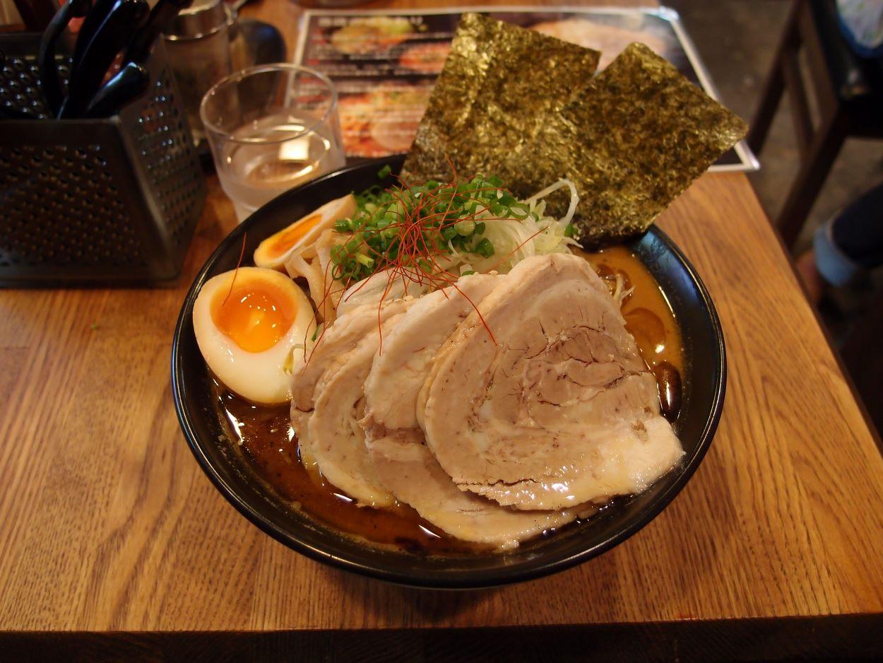 Miso ramen from Morimenzou ramen restaurant in Komagome | Short History of Ramen | Let's Go Get Some Ramen