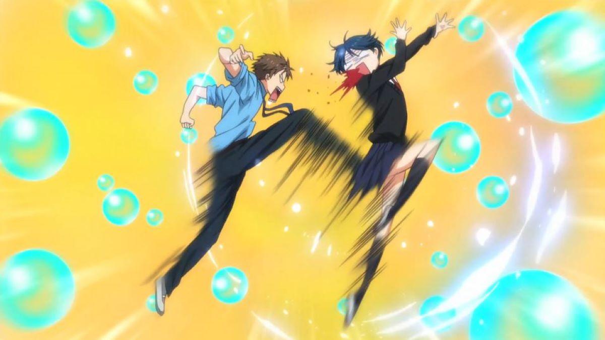 Hori kicking Kashima | To Show Love? | Shrugging off Terrible Injuries in Anime