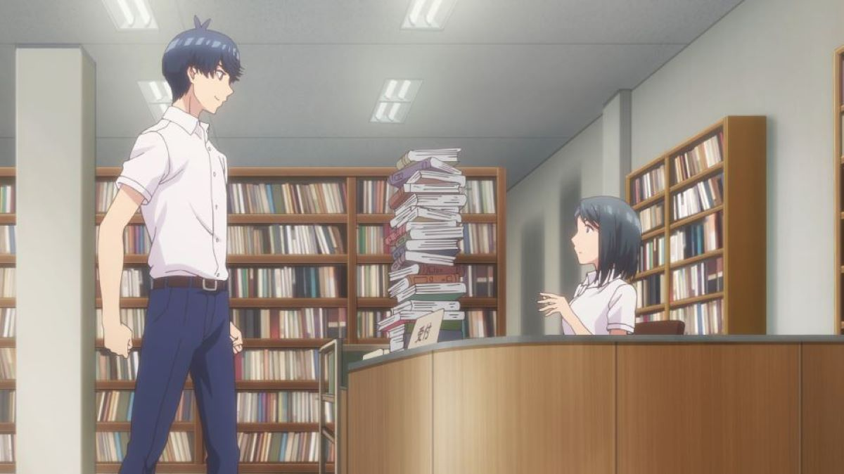 Fuutaro studying up | Determined Protagonist | Five Reasons Why The Quintessential Quintuplets is Just so Great