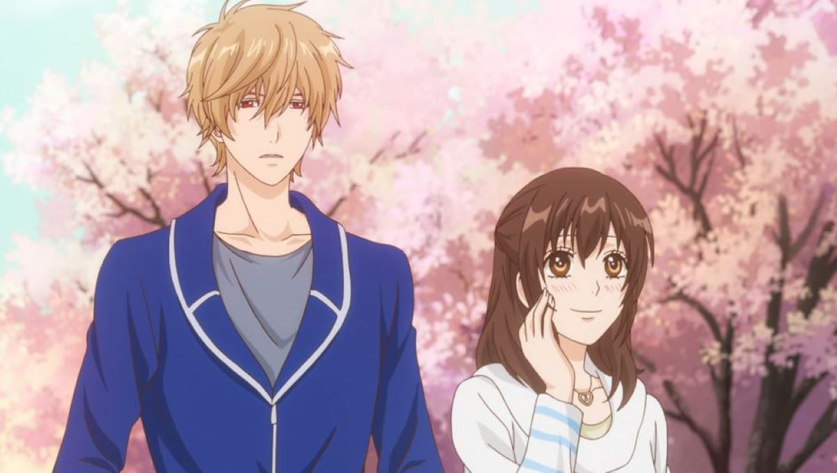 Erika and Kyouya on a spring date | Festivals | Spring Flower Viewing