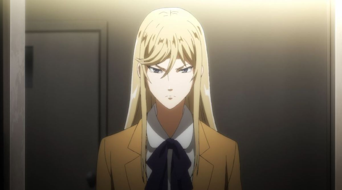 Lin fighting his way into the bosses office   Xianming Lin - Hakata Tonkotsu Ramens   Foreign Characters in Anime