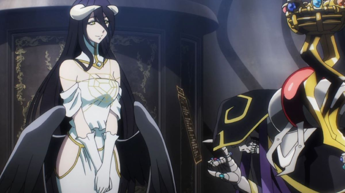 Momonga changing Albedo's settings | Contrasting Looks and Personality | The Contrasts in Albedo from Overlord