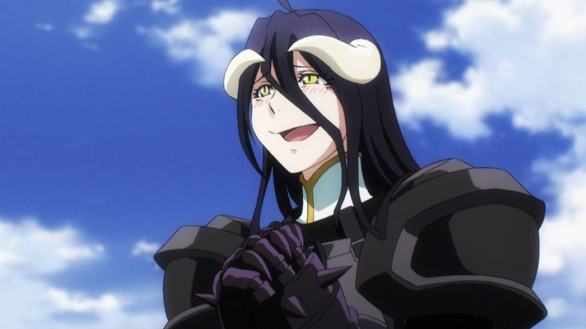 Albedo blushing while wearing her armour | Power Beyond Looks | The Contrasts in Albedo from Overlord