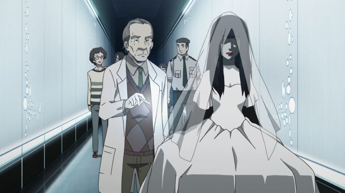 The wedding dress clad figure is investigated | The Perfect Insider | Mystery Anime