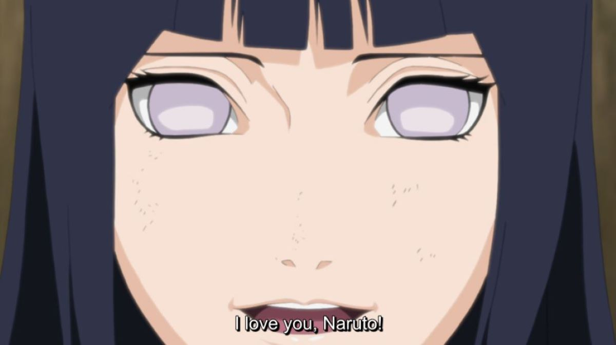 Hinata confessing to Naruto | Ways to Say I love You | The Art of the Love Confession - Kokuhaku