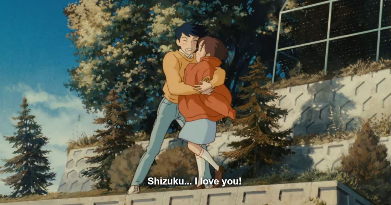 Seiji catches Shizuku off guard by hugging her | Showing Affection | The Art of the Love Confession - Kokuhaku