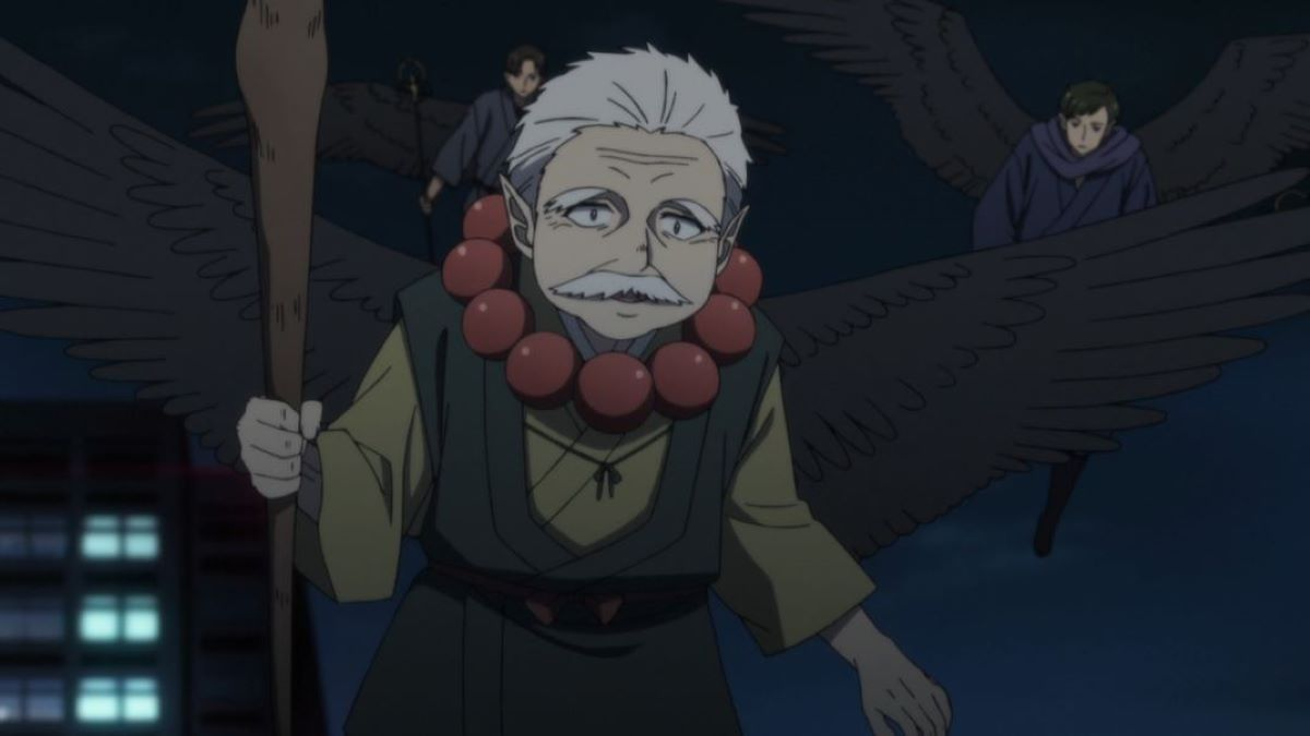 Tengu flying | Origin | Tengu: A Creature from Japanese Folklore