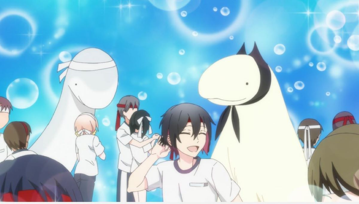 All the main characters at the sports festival | Jingai-san no Yome | Anime Shorts to Make You Smile