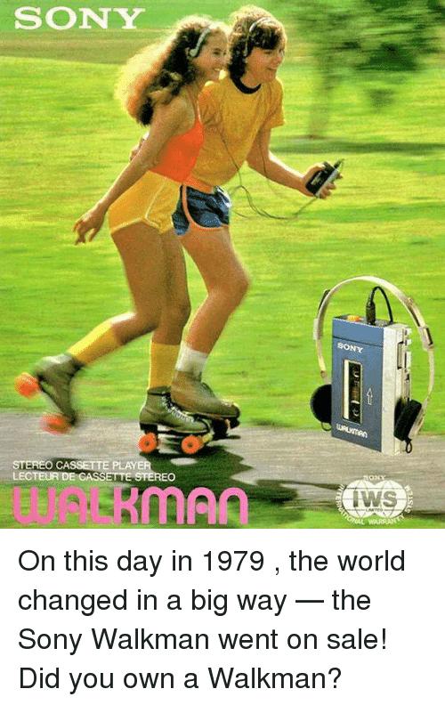🐣 25+ Best Memes About Sony Walkman   Sony Walkman Memes