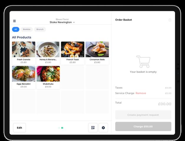 menu mobile ordering