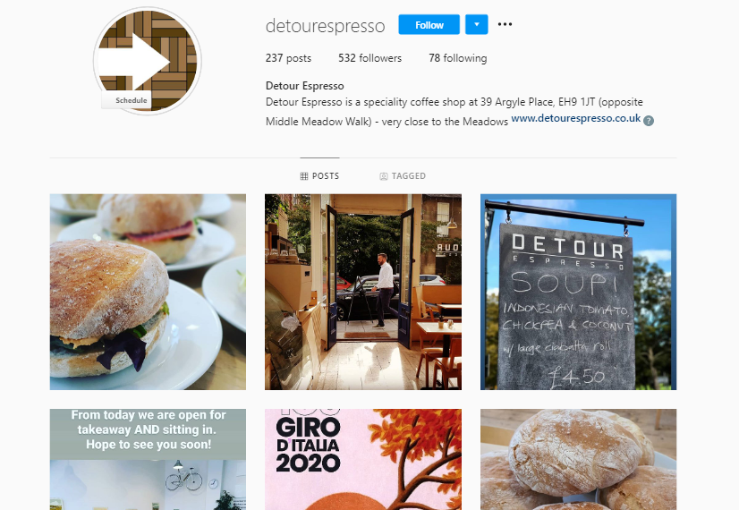 social media for business instagram posts