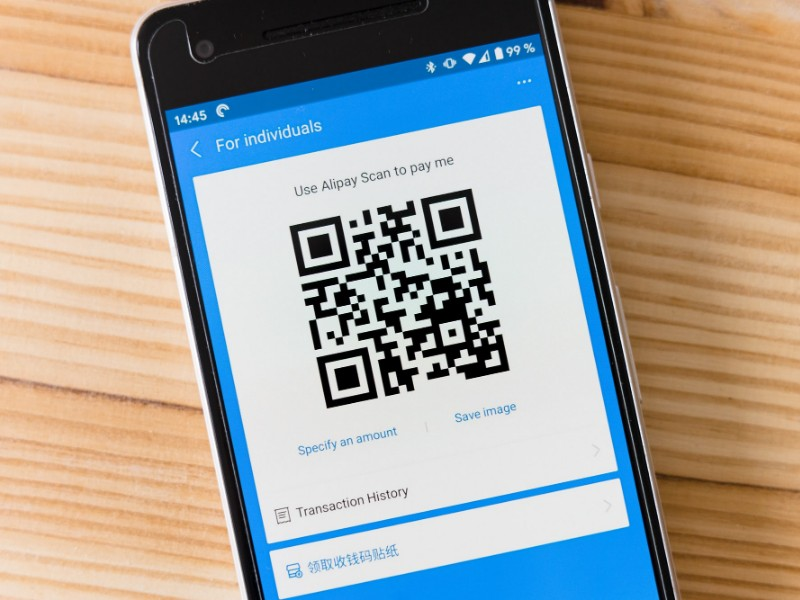 qr code payment pomelo pay