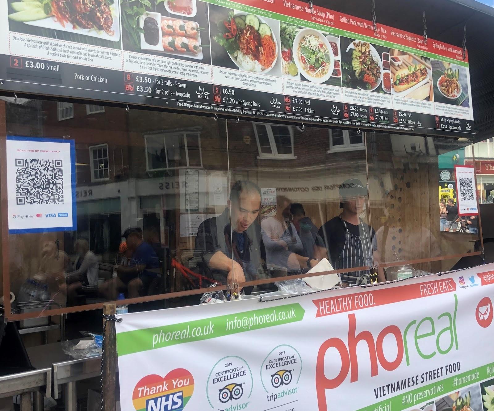 A shop using QR codes to increase revenue