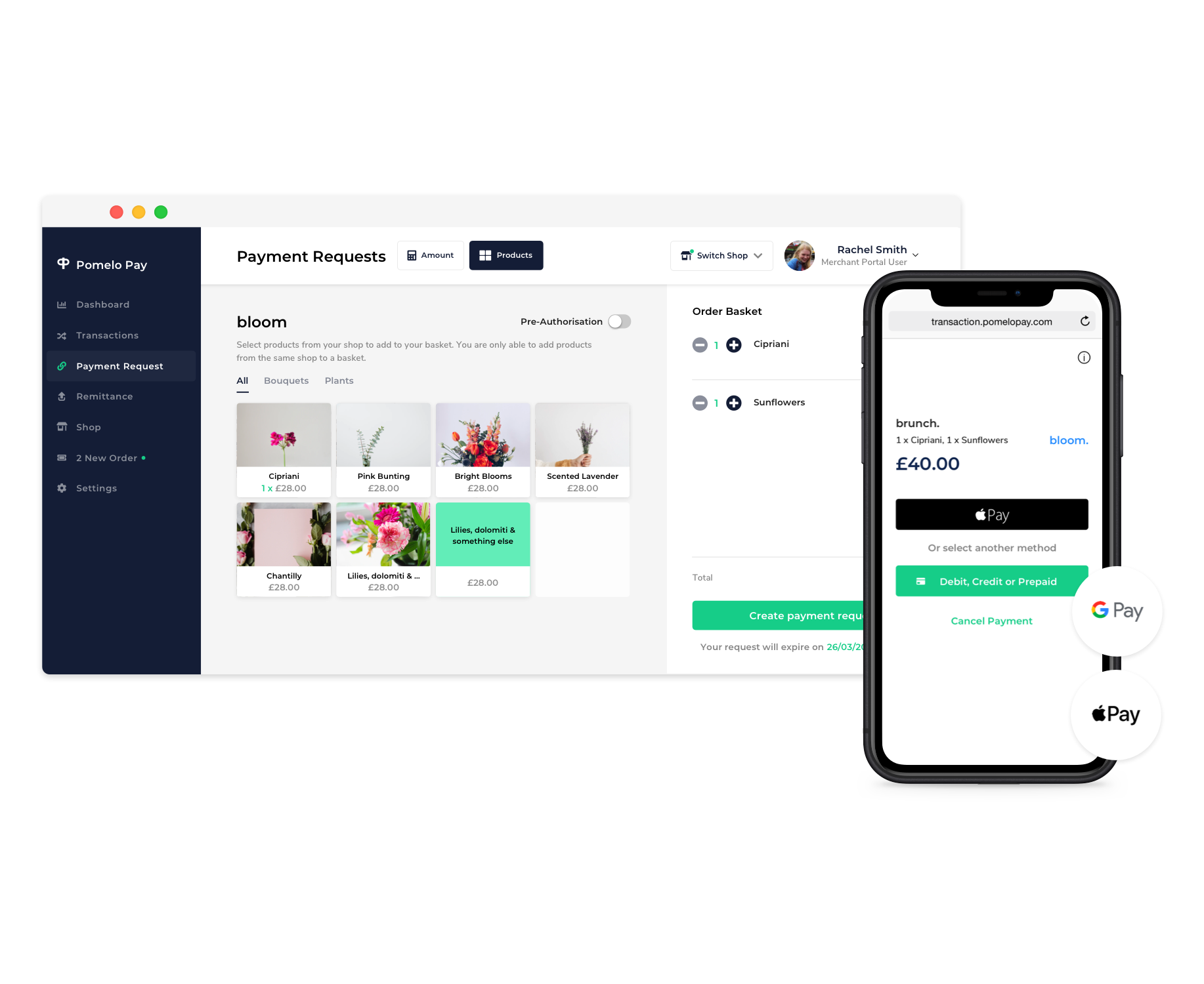pomelo pay best payment link dashboard