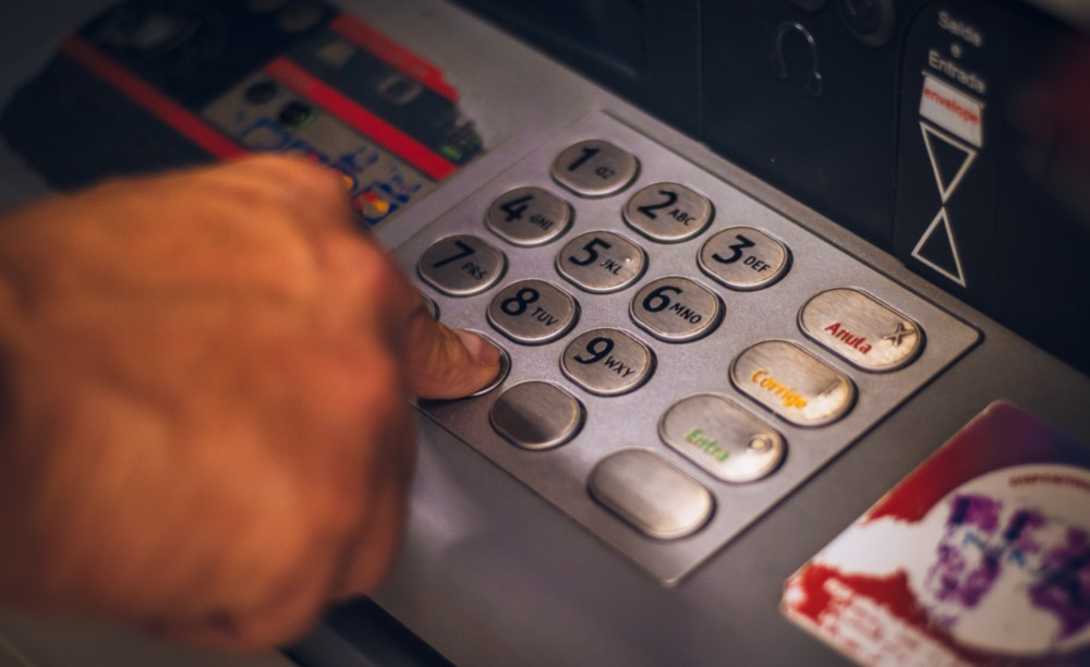 types of payment methods atm machine