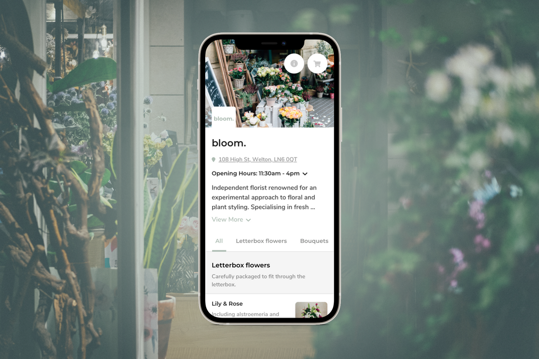 ecommerce phone app