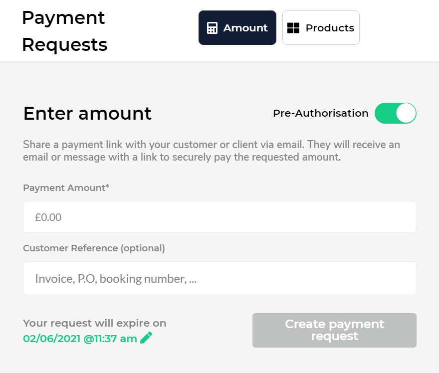pre authorisation pomelo pay