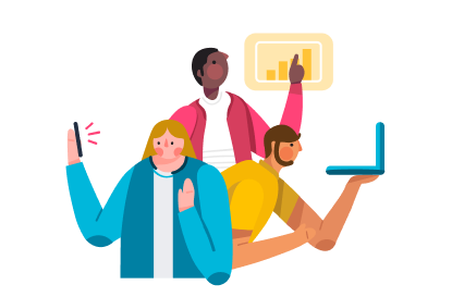Group illustration icon