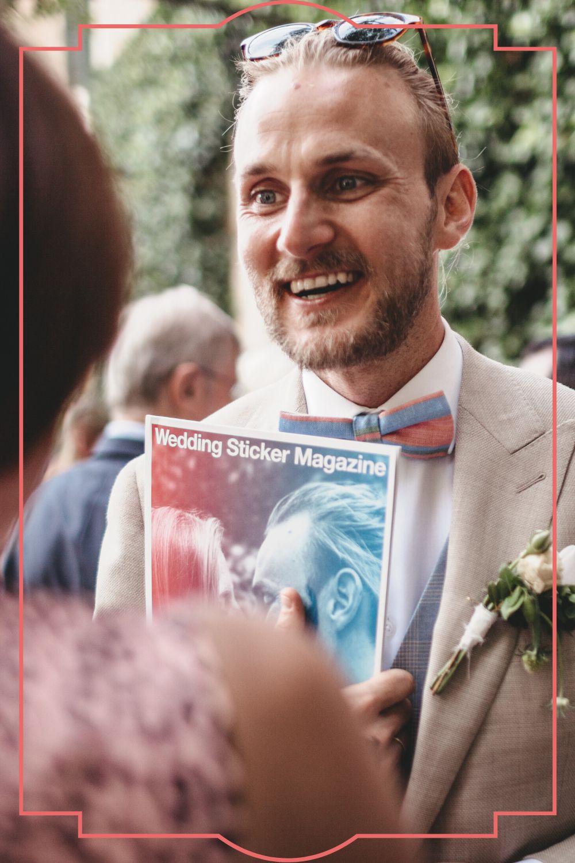 Die etwas andere Hochzeitszeitung
