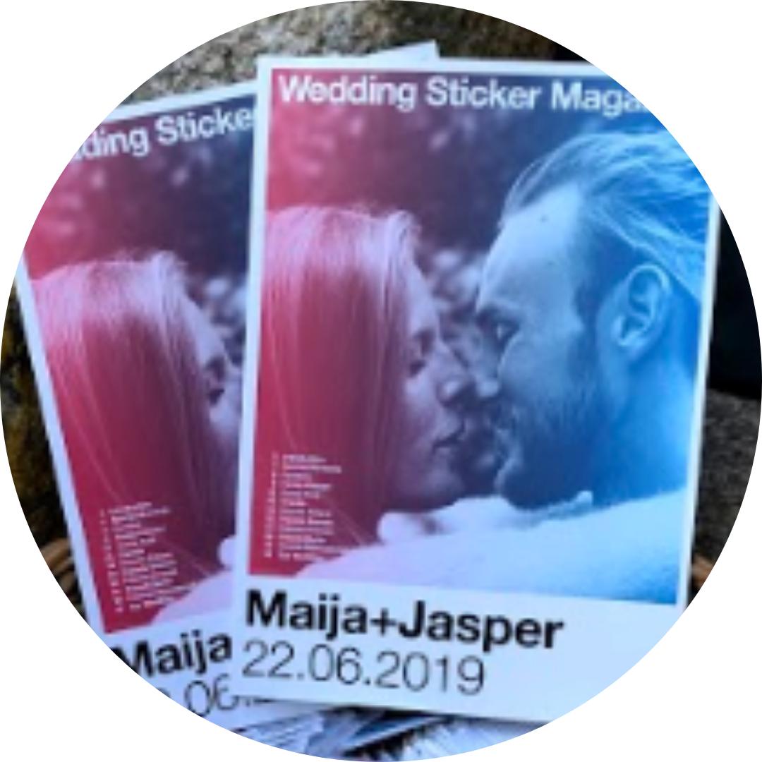 Stickerstars Zitat Brautpaar