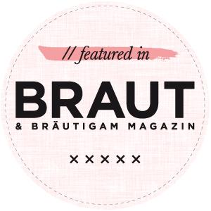 Stickerstars Wedding bei BRAUT & Bräutigam Magazin