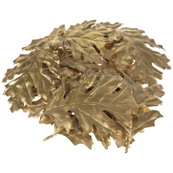 Gold Metallic Leaves