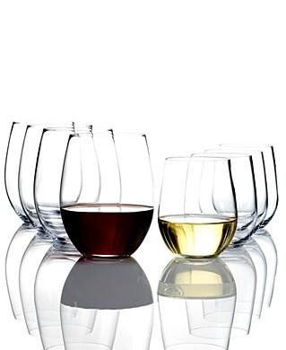 Riedel Stemless Wine Glasses