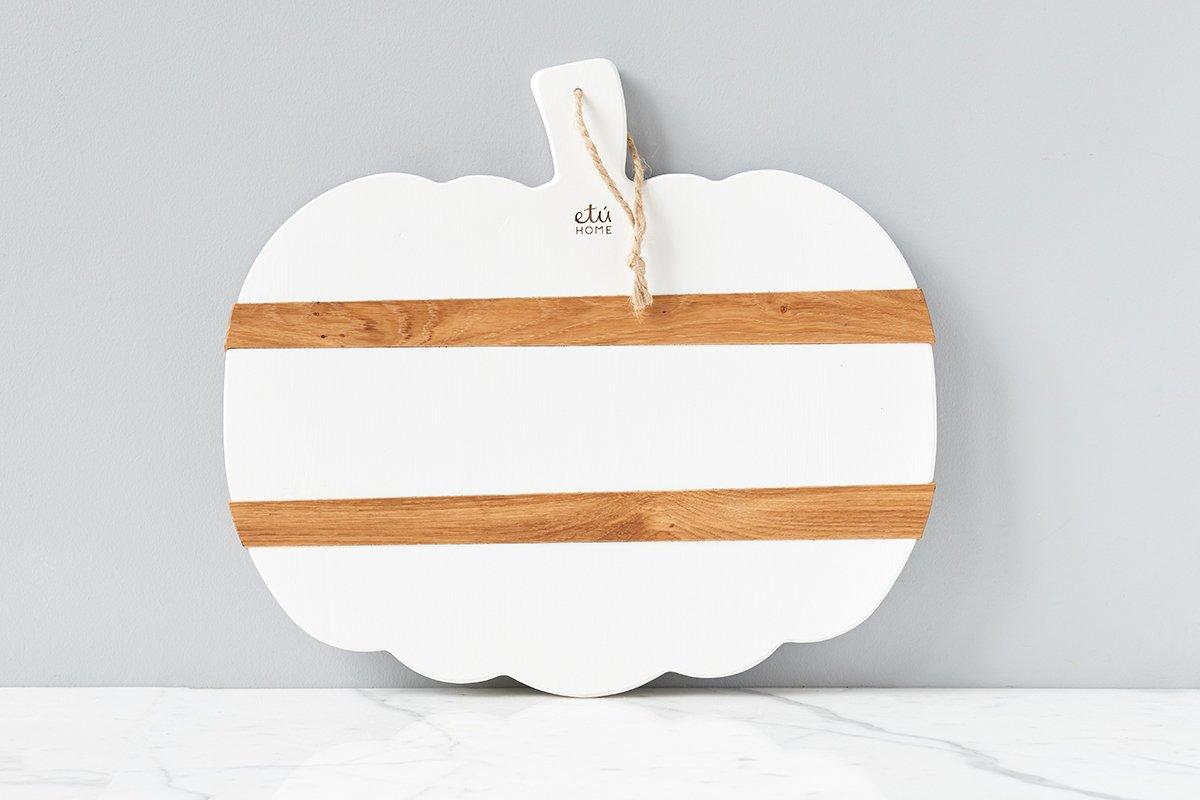 Pumpkin Charcuterie Board