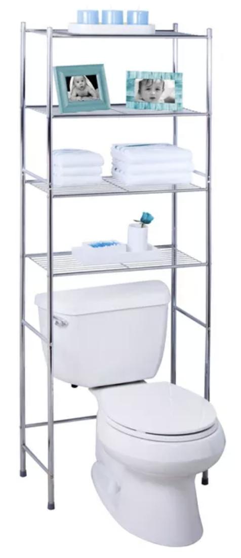 Dorm Toilet Storage