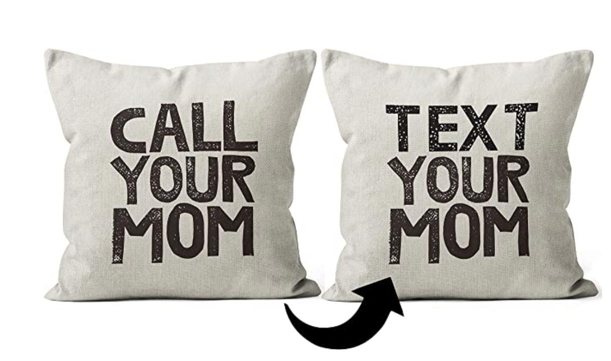 Dorm Call Your Mom Pilllow